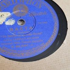 Discos de pizarra: DISCO 78 RPM SAETAS LOLA CABELLO. Lote 171024062