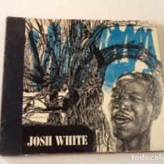 Discos de pizarra: ÁLBUM CON 3 DISCOS 78 RPM SONGS BY JOSH WHITE - USA. Lote 171106407