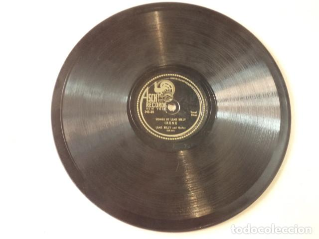 Discos de pizarra: ÁLBUM CON 3 DISCOS 78 RPM SONGS BY LEAD BELLY ACOMPANIED BY SONNY TERRY - USA - Foto 6 - 171106508