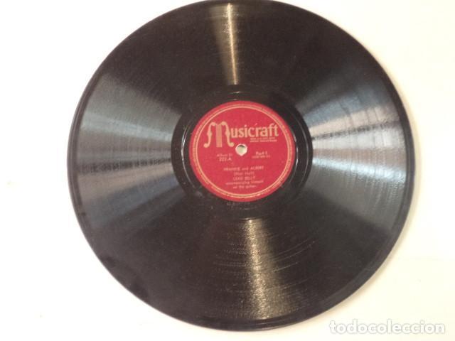 Discos de pizarra: ÁLBUM CON 5 DISCOS 78 RPM NEGRO SINFUL SONGS SUNG BY LEAD BELLY - USA - Foto 3 - 171106839