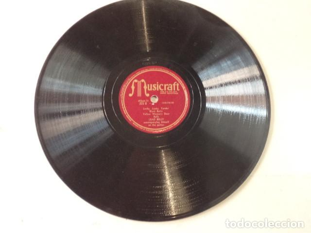 Discos de pizarra: ÁLBUM CON 5 DISCOS 78 RPM NEGRO SINFUL SONGS SUNG BY LEAD BELLY - USA - Foto 4 - 171106839