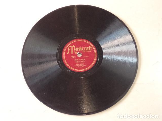 Discos de pizarra: ÁLBUM CON 5 DISCOS 78 RPM NEGRO SINFUL SONGS SUNG BY LEAD BELLY - USA - Foto 5 - 171106839