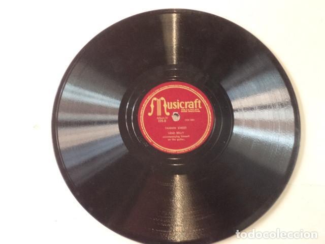 Discos de pizarra: ÁLBUM CON 5 DISCOS 78 RPM NEGRO SINFUL SONGS SUNG BY LEAD BELLY - USA - Foto 6 - 171106839