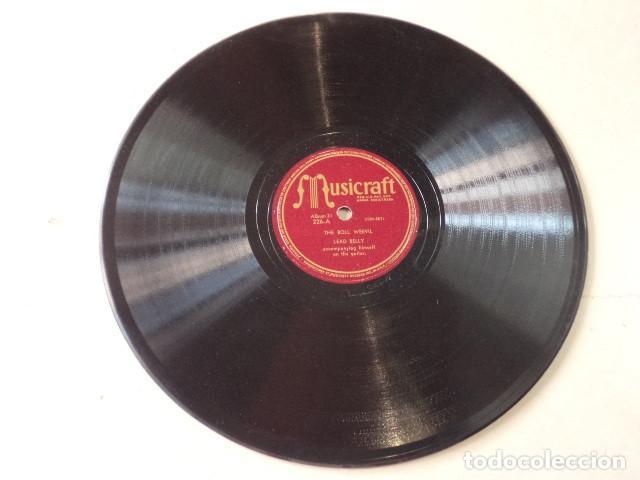 Discos de pizarra: ÁLBUM CON 5 DISCOS 78 RPM NEGRO SINFUL SONGS SUNG BY LEAD BELLY - USA - Foto 7 - 171106839