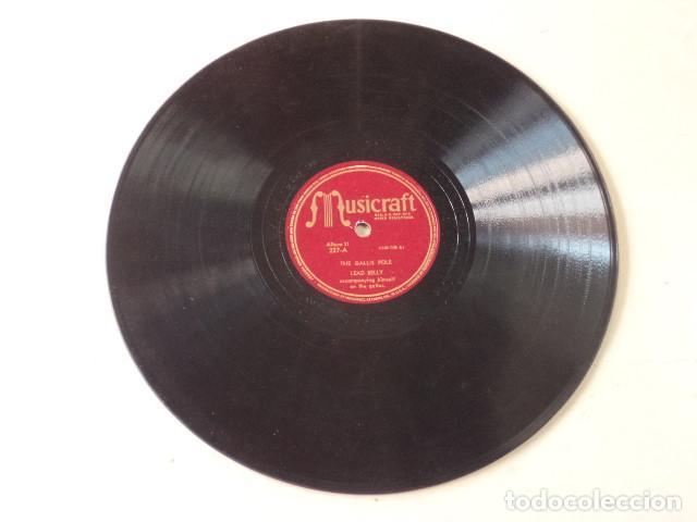 Discos de pizarra: ÁLBUM CON 5 DISCOS 78 RPM NEGRO SINFUL SONGS SUNG BY LEAD BELLY - USA - Foto 9 - 171106839