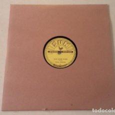 Discos de pizarra: DISCO 78 RPM CARL PERKINS - BLUE SUEDE SHOES/HONEY, DON'T ! - SUN RECORDS - USA. Lote 171107163
