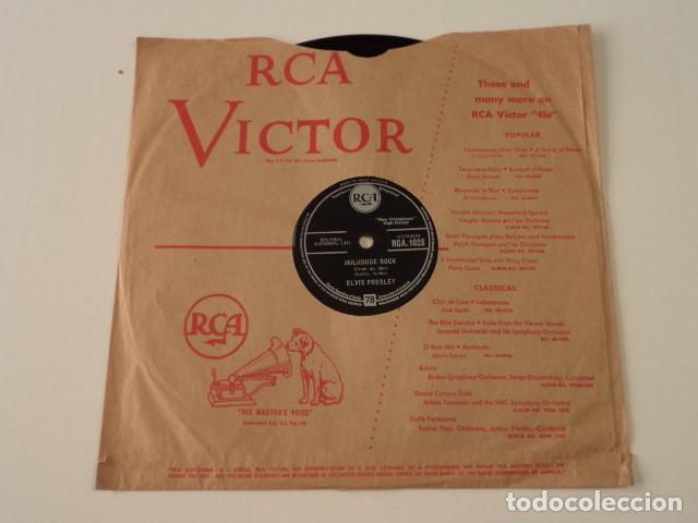 DISCO 78 RPM ELVIS PRESLEY - JAILHOUSE ROCK/TREAT ME NICE - GREAT BRITAIN (Música - Discos - Pizarra - Jazz, Blues, R&B, Soul y Gospel)