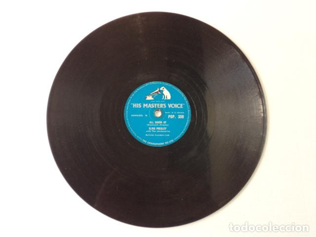 Discos de pizarra: DISCO 78 RPM ELVIS PRESLEY AND THE JORDANAIRES - ALL SHOOK UP/THATS WHEN YOUR… - GREAT BRITAIN - Foto 2 - 171107759