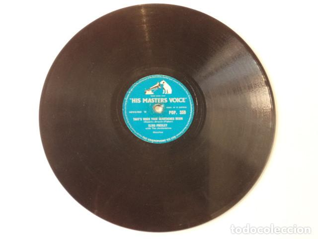 Discos de pizarra: DISCO 78 RPM ELVIS PRESLEY AND THE JORDANAIRES - ALL SHOOK UP/THATS WHEN YOUR… - GREAT BRITAIN - Foto 4 - 171107759