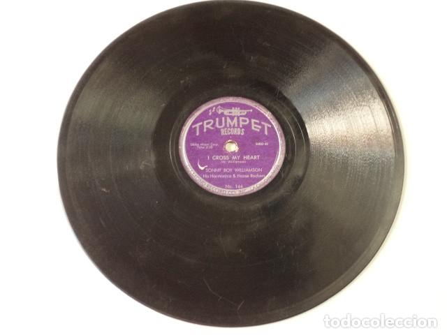 Discos de pizarra: DISCO 78 RPM SONNY BOY WILLIAMSON HIS HARMONICA & HOUSE ROCKERS - WEST MEMPHIS BLUES/I CROSS… - Foto 5 - 171109435