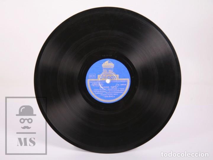 Discos de pizarra: Disco Piedra / Pizarra - Éxitos UFA. Selección. Orquesta Dajos Bela - Odeon - Foto 3 - 171978455