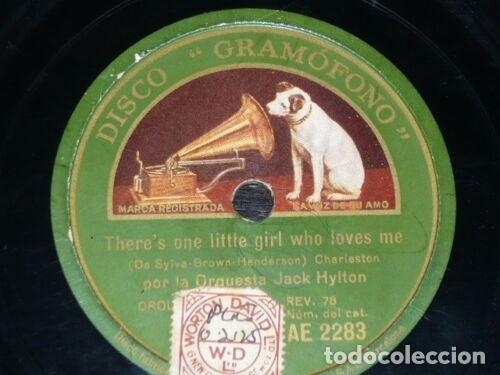 Discos de pizarra: DISCO 78 RPM - GRAMOFONO - ORQUESTA JACK HYLTON - CHARLESTON - JAZZ - PIZARRA - Foto 2 - 172290158