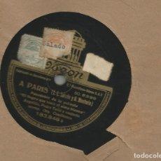 Discos de pizarra: ANGELILLO, DE EL NEGRO QUE TENIA EL ALMA BLANCA, A PARÍS + COLOMBIANA. Lote 172569588