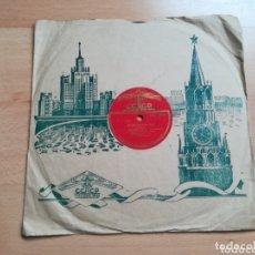 Discos de pizarra: RARO DISCO DE LA ANTIGUA UNIÓN SOVIÉTICA.. Lote 172839897
