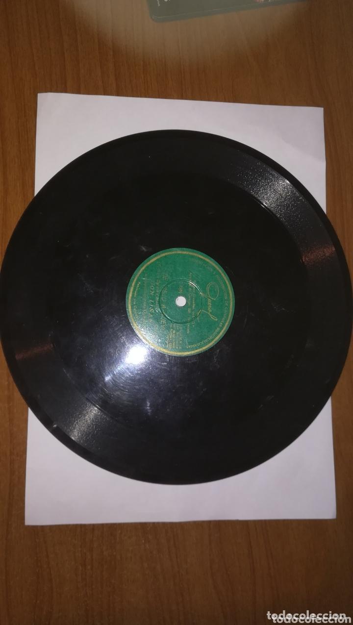 Discos de pizarra: Antiguos discos de pizarra lote de 3 - Foto 4 - 172963682