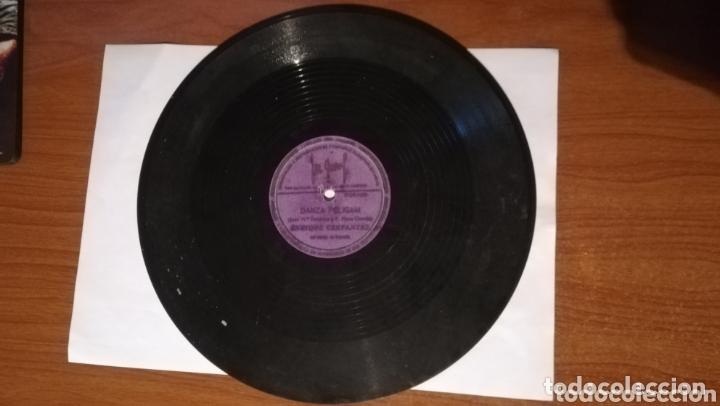 Discos de pizarra: Antiguos discos de pizarra lote de 3 - Foto 6 - 172963682