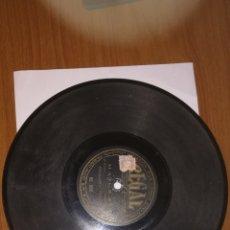 Discos de pizarra: ANTIGUOS DISCOS DE PIZARRA LOTE DE 3. Lote 172963682