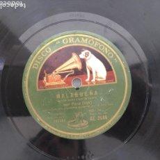Discos de pizarra: DISCO PIZARRA MANUEL PENA HIJO FANDANGO. Lote 173096737