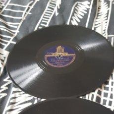 Discos de pizarra: LOTE DOS DISCOS 78 RPM CARLOS GARDEL. Lote 173458153