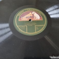 Discos de pizarra: DISCO 79 RPM COJO DE MALAGA. Lote 173567765
