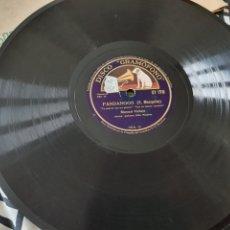 Discos de pizarra: DISCO 78 RPM MANUEL VALLEJO. Lote 173577922