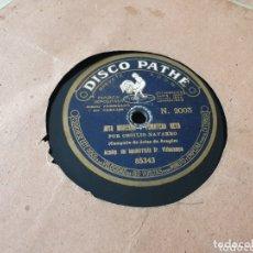 Discos de pizarra: DISCO 78 RPM JOTAS CECILIO NAVARRO. Lote 173578813