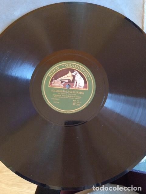 ORQUESTA FILARMONICA DE VIENA: GOLONDRINAS PUEBLERINAS (VALS, I Y II PARTE). DISCO PIZARRA. (Música - Discos - Pizarra - Flamenco, Canción española y Cuplé)