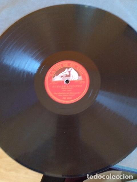 ORQ. SINFONA DE MINNEAPOLIS: ACELERACIONES (VALS, I Y II PARTE). DISCO PIZARRA. (Música - Discos - Pizarra - Flamenco, Canción española y Cuplé)