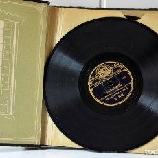 Discos de pizarra: ESTUCHE CON 11 DISCOS DE PIZARRA. Lote 49486223