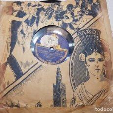 Discos de pizarra: DISCO DE PIZARRA HIMNO A LA VIRGEN DEL PILAR-ODEON . Lote 174167082
