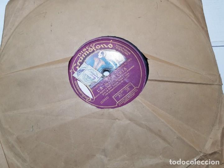 DISCO DE PIZARRA-LA MONTERIA-DISCO GRAMOFONO (Música - Discos - Pizarra - Flamenco, Canción española y Cuplé)