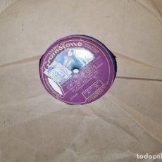 Discos de pizarra: DISCO DE PIZARRA-LA MONTERIA-DISCO GRAMOFONO. Lote 174167465