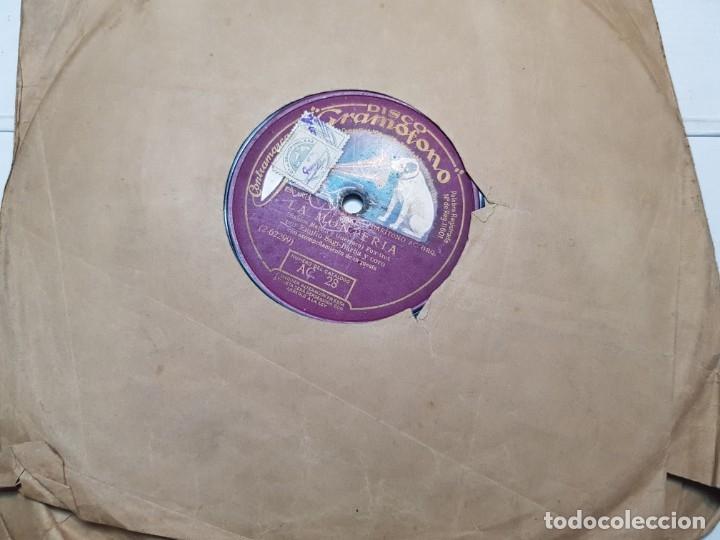 Discos de pizarra: Disco de Pizarra-La Monteria-Disco Gramofono - Foto 2 - 174167465
