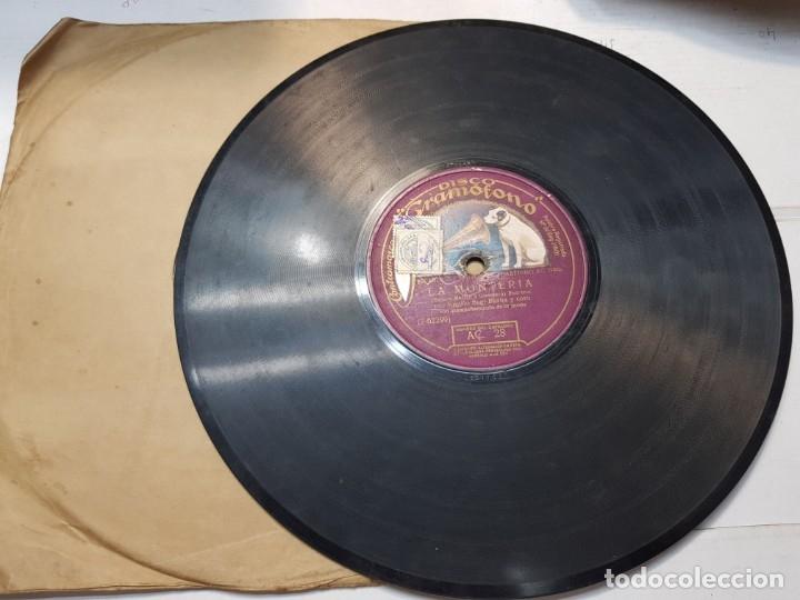 Discos de pizarra: Disco de Pizarra-La Monteria-Disco Gramofono - Foto 3 - 174167465