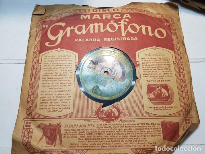 DISCO DE PIZARRA-LA ESPAÑA CAÑI-DISCO GRAMOFONO (Música - Discos - Pizarra - Flamenco, Canción española y Cuplé)