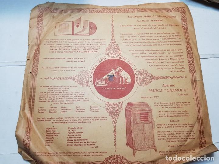 Discos de pizarra: Disco de Pizarra-La España Cañi-Disco Gramofono - Foto 2 - 174173560
