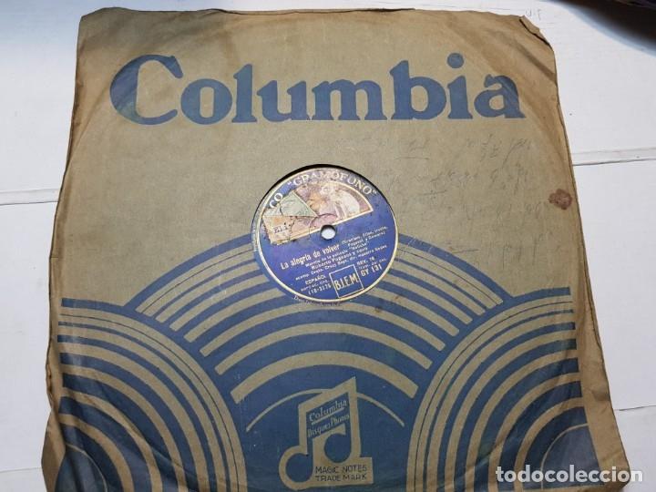 Discos de pizarra: Disco de Pizarra-Rosa Peregrina-Disco Gramofono - Foto 2 - 174174088