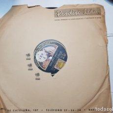 Discos de pizarra: DISCO DE PIZARRA-CARMEN-DISCO GRAMOFONO. Lote 174174479