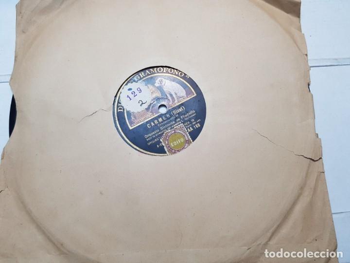 Discos de pizarra: Disco de Pizarra-Carmen-Disco Gramofono - Foto 2 - 174174479