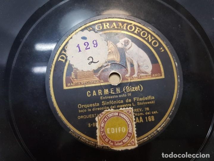 Discos de pizarra: Disco de Pizarra-Carmen-Disco Gramofono - Foto 4 - 174174479