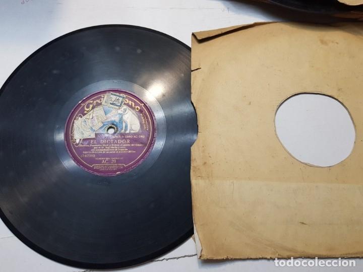 Discos de pizarra: Disco de Pizarra-El Dictador-Disco Gramofono - Foto 3 - 174174880