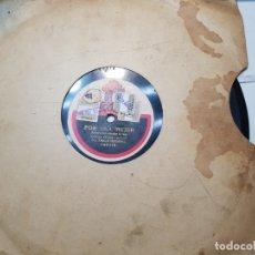 Discos de pizarra: DISCO DE PIZARRA-POR UNA MUJER-DISCO ODEON. Lote 174175083