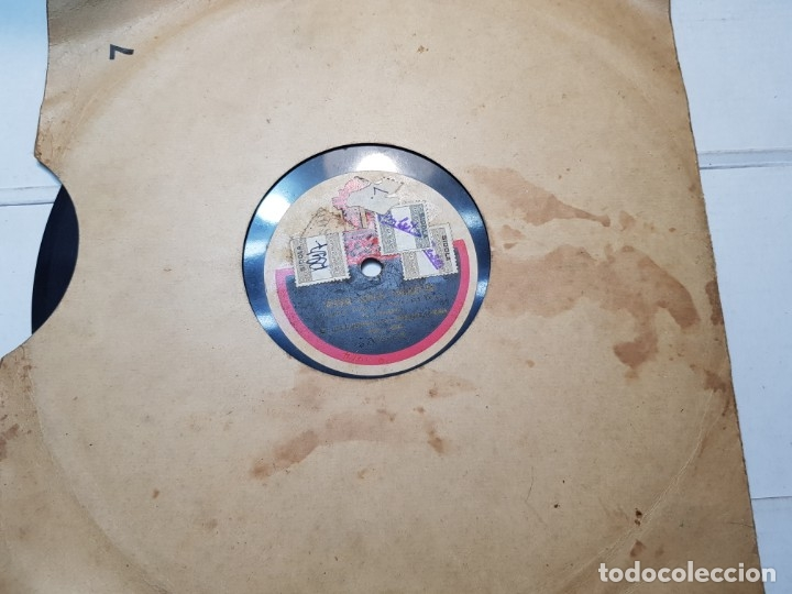 Discos de pizarra: Disco de Pizarra-Por Una Mujer-Disco ODEON - Foto 2 - 174175083