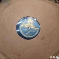 Discos de pizarra: DISCO DE PIZARRA-NEGRITA DE MI ALMA-DISCO ODEON. Lote 174175974
