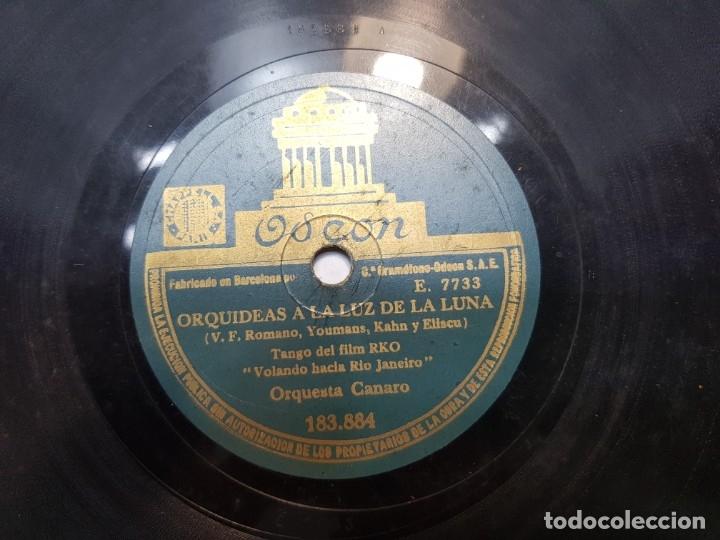 Discos de pizarra: Disco de Pizarra-Negrita de mi Alma-Disco ODEON - Foto 4 - 174175974