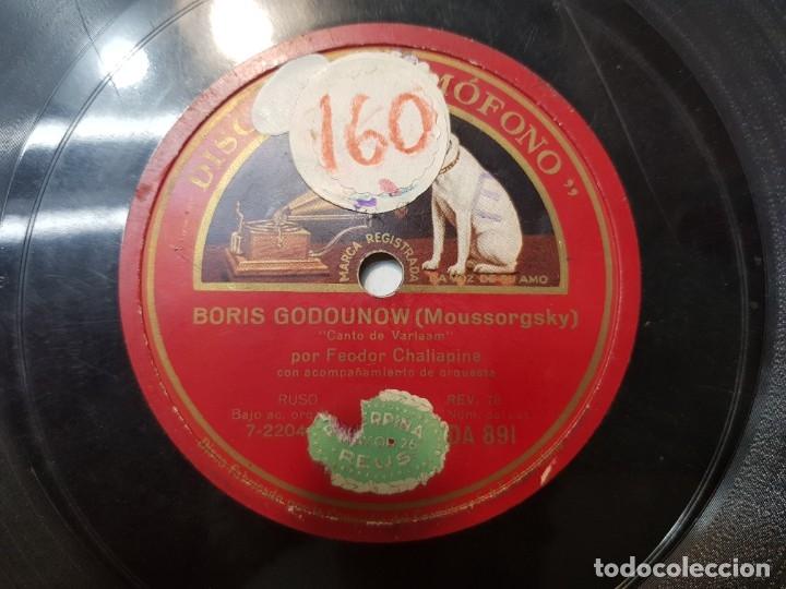 Discos de pizarra: Disco de Pizarra-Boris Godounow-Disco GRAMOFONO - Foto 5 - 174176854