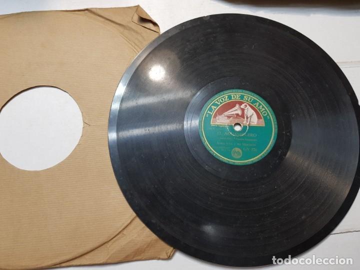 Discos de pizarra: Disco de Pizarra-El Aguamielero-Disco LA VOZ DE SU AMO - Foto 2 - 174177170