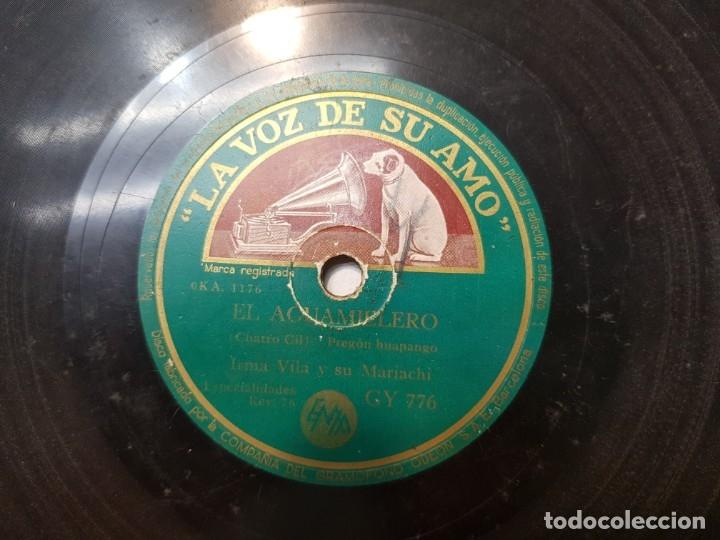Discos de pizarra: Disco de Pizarra-El Aguamielero-Disco LA VOZ DE SU AMO - Foto 3 - 174177170