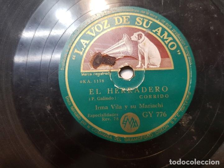 Discos de pizarra: Disco de Pizarra-El Aguamielero-Disco LA VOZ DE SU AMO - Foto 4 - 174177170