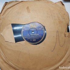 Discos de pizarra: DISCO DE PIZARRA-LA MARSELLESA-DISCO REGAL. Lote 174177434